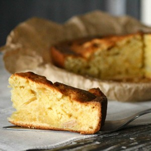 Apple and Orange tea cake