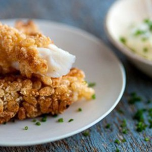 Rice Krispie Fish fingers
