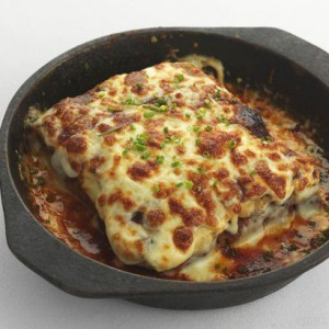 Beef & Bacon lasagna