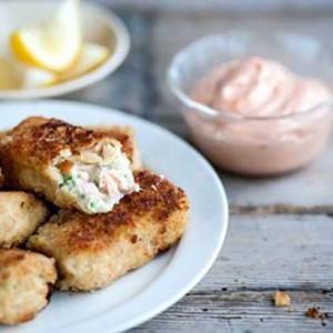 Salmon & Haddock fish cakes