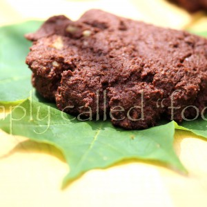 Gluten free chocolate and espresso cookies