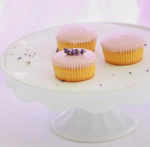 Honey Lavender Cupcakes