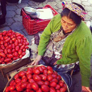 My photo\'s travel in the Guatemala kitche
