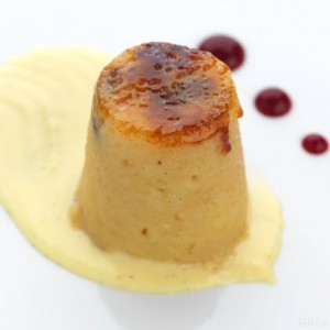 Kinloch's bread and butter pudding