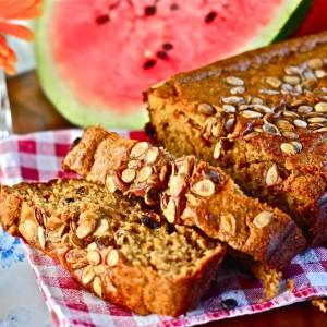 Summertime Watermelon Bread