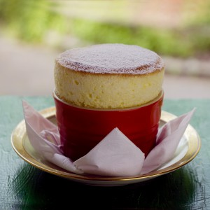 Passion Fruit Soufflé