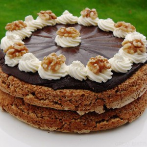 Walnut and Mocha Torte