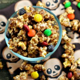 Halloween Candy Popcorn
