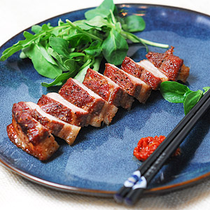 Oven Baked Korean Pork Belly