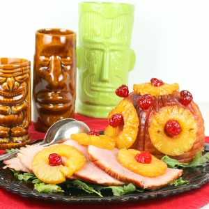 Hawaiian Brown Sugar Glazed Ham