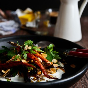 Autumnal Roast Carrot Salad
