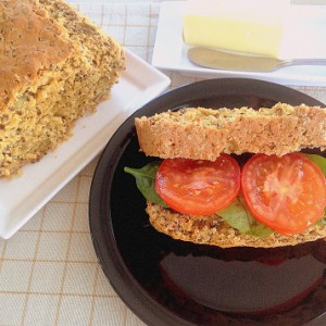 Red Quinoa Oatmeal Bread