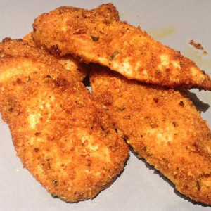 Spicy Breaded Garlic Chicken