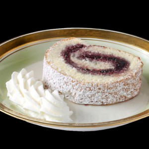 Blackberry Port Wine Jelly Roll