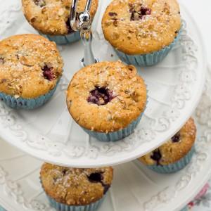 Blackberry Hazelnut Muffins