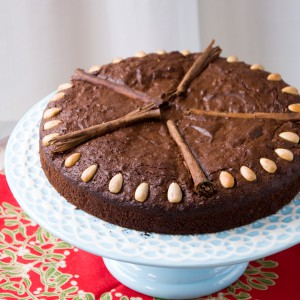 Spiced Chocolate-Date Cake